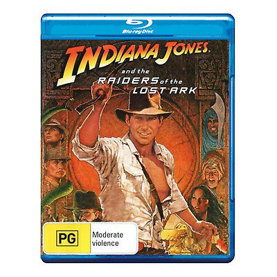 Indiana Jones and the Raiders of the Lost Ark Blu-ray Brand New - Harrison Ford