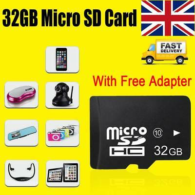 32GB Micro SD Card Class 10 TF Flash Memory Mini SDHC SDXC - 32G - NEW - UK