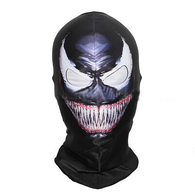 Spiderman Full Head Masks Balaclava Hood Cosplay Venom Halloween Cosplay Mask AU