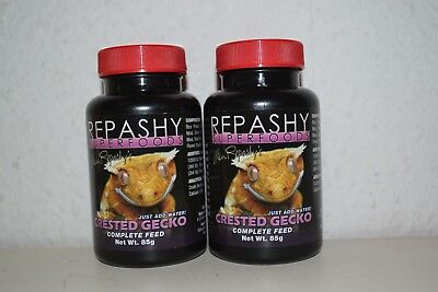 Two Packs Repashy Crested Gecko Food 170g (2 x 85g)