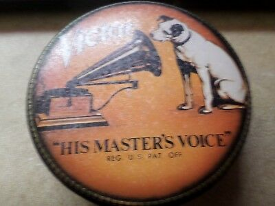 """Victor """"His Master's Voice"""" Collectible Tin"""