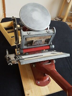 Adana Printing Press + Fonts + Letterpress Bits And Pieces - Too Much To List.
