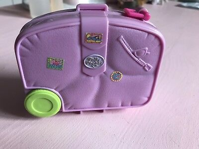 Vintage Polly Pocket Compact Suitcase