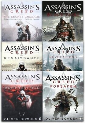 Assassins Creed 6 Books Collection Set By Oliver Bowden | Oliver Bowden PB WML