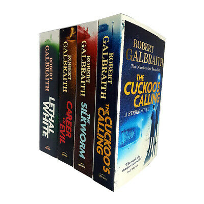 Robert Galbraith's Cormoran Strike Series Collection 4 Books Set Career of Evil
