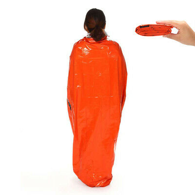 Emergency Blanket Outdoor Space Survival First Aid Rescue Thermal Sleeping Bag