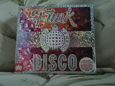 funk the disco cd- ministry of sound various artists new free uk postage