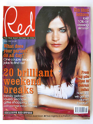Red Magazine May 1999 Helena Christensen Val Kilmer