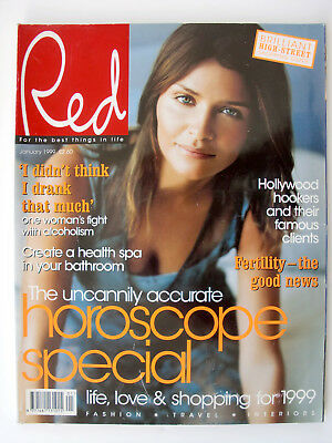 Red Magazine January 1999 Helena Christensen Vic Reeves and Bob Mortimer