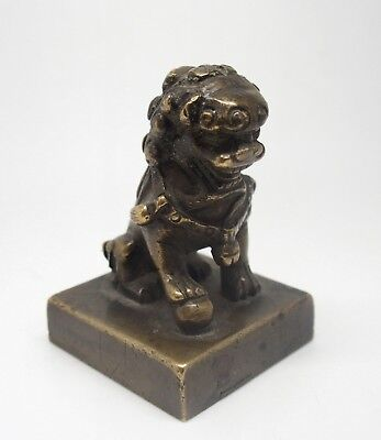 Fine antique 18th / 19th century Chinese bronze seal
