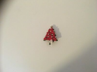 christmas tree pin brooch
