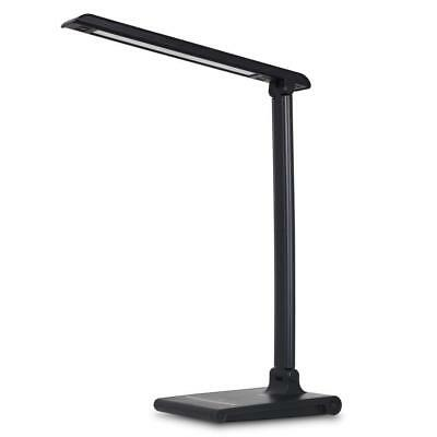 August LEC315 - Dimmable LED Desk Lamp With USB Charging Port Office Work Light