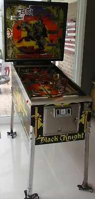 Williams Black Knight Pinball Machine 1980 Time Capsule New Out Of Box Home Use!
