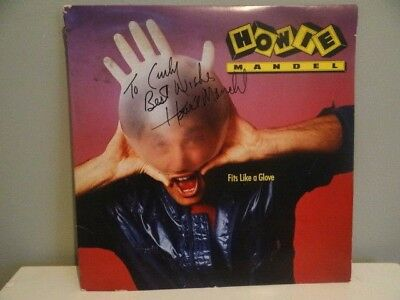 HOWIE MANDEL signed LP ALBUM VINYL Record Fits Like A Glove Funny Comedy 1986