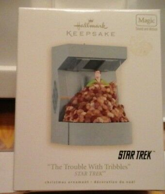 Hallmark  Ornament Star Trek Trouble  With  Tribbles