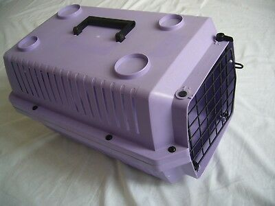 PET CARRIER TRANSPORT CAGE VOYAGER 100 CAT DOG RABBIT BUNNY ANIMAL 48x31x29cm