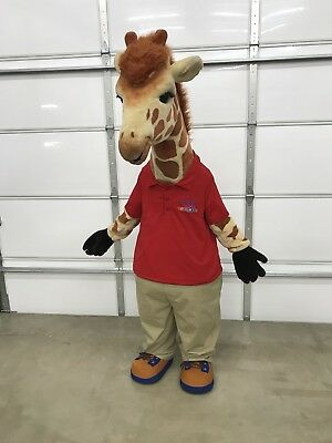 Toys-R-Us Geoffrey Giraffe Mascot Costume Official Mid 2000's Adult