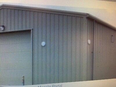 60m x 20m Portal Frame steel Building  Industrial Used not agricultural bristol