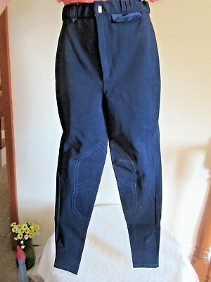 LADIES NAVY RIDING BREECHES / PANTS! SZ SMALL Top Quality - Stretch Pants