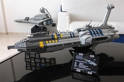 Providence Invisible Hand Lego Star Wars Moc Ucs Only Instructions