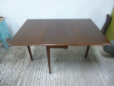 Vintage ANTIQUE  HARDWOOD  Table Drop Leaf