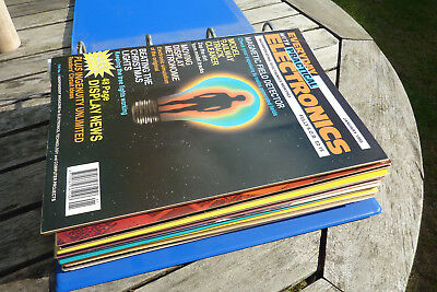 Everyday (With Practical) Electronics magazines, 1995 complete year in binder