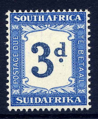 South Africa 1932-42 Postage Due 3D Watermark Inverted Error Fine Unmounted Mint
