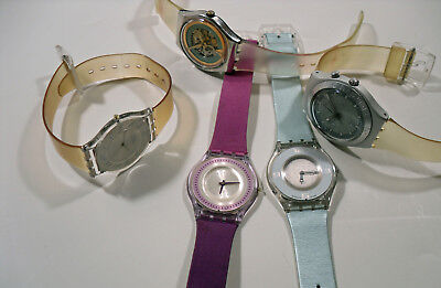 Job Lot of 5 x Used Swatch Watches (274)