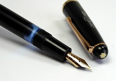 MONTBLANC No.3-42G  Fountain Pen  Kolbenfüller OM -Gold Feder from 1951