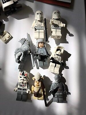 LEGO Star Wars 7956 Ewok Attack + 8084 Snow  Trooper + Extras - 8 Minifigures