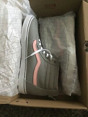 Vans Maddie Hi Rise Zip Girl wild dove/blossom Shoes Sneakers Size 6