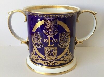 Spode Loving Cup - Great Britain's Entry into European Union 1973 - Ltd Edn