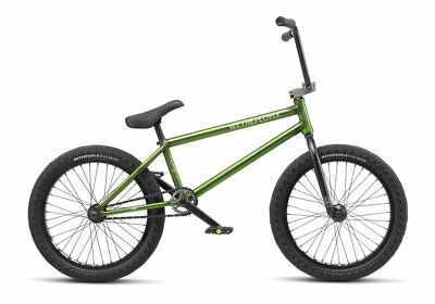 "We The People 2019 Crysis 21 Trans Olive Complete Bmx Bike 21"" S&M 21 Inches"