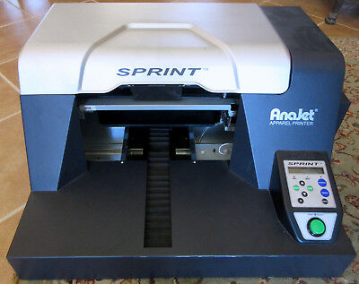 Anajet Sprint SP-200A Apparel Printer - DTG Direct To Garment Manual Included