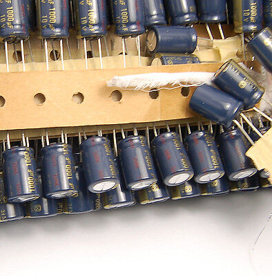 10pcs-- 1000uf 10v Electrolytic Capacitor 10v1000uf Panasonic FC Low ESR Japan