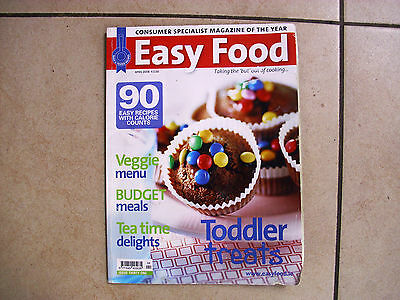 EASY FOOD magazine April 2008 issue, 90 easy recipies, good con