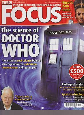 BBC FOCUS science & tech Mag issue 162 The science of Doctor Who