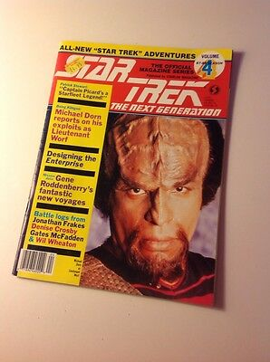 Star Trek The Next Generation Magazine Volume 4 87-88 Season