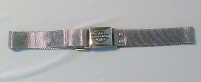 """Ladies Harley Davidson Silver Tone Mesh Belt Extends T0 Approx. 28"""""""