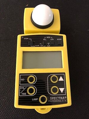Spectra Cine Professional IV-A Exposure Meter 74146 PRE_OWNED