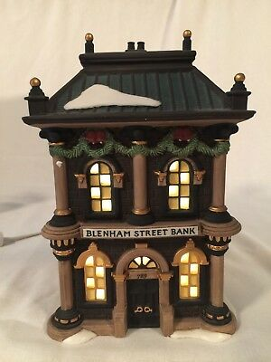 Dickens Dept 56 Heritage Village Collection Blenham Street Bank 58330 With Box