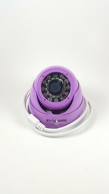 Color CCTV Camera - Purple 1080P