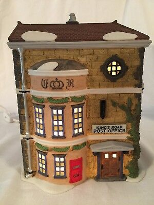 Dickens Dept 56 Heritage Village Collection KINGS ROAD POST OFFICE 5801-7 W Box