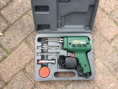 Parkside Soldering Gun Iron Kit With  Storage Carry Case