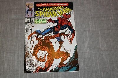 The Amazing Spider-Man #361 (Apr. 1992,Marvel) 1st Appearance Carnage, 1st Print