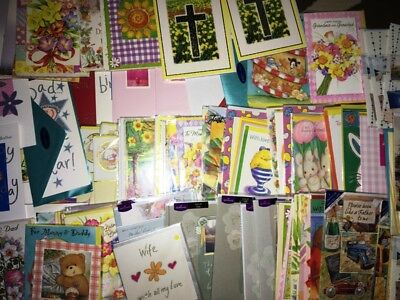 Job lot over 150 greeting cards including 2 large Me To You Cards