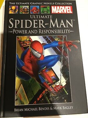 Ultimate Spider-Man Power And Responsibility Brian Michael Bendis & Mark Bagley.