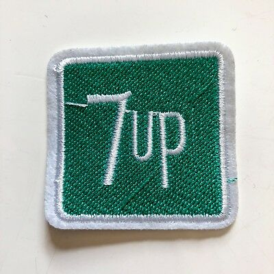 Soda 7Up Sign Logo Toy boy kid Sew Iron On Embroidered Patch Applique