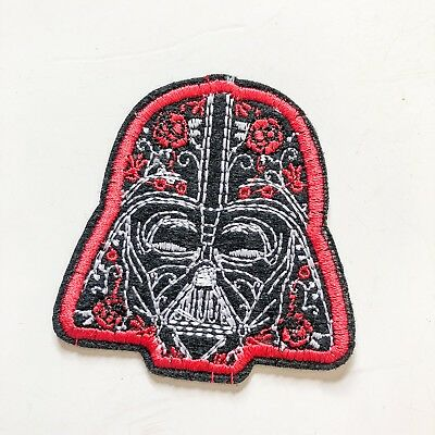 Star War Black Sign Logo Toy boy kid Sew Iron On Embroidered Patch Applique