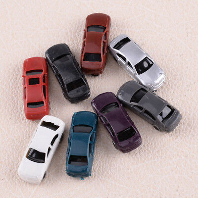 100pcs Scale 1/160 Painted Model Cars N Gauge for Layout